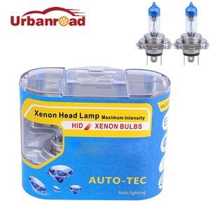 2PCS H4 55w 12v faróis de nevoeiro lâmpada de halogéneo h4 55w halogéneo 4000k branco carro lâmpada cabeça de luz do carro styling brilhante super