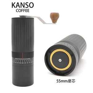 대용량 수동 커피 분쇄기 커피 분쇄기 스테인레스 스틸 버 티타늄 도금