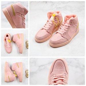 2020 The New Hot venda Alta Coral Tênis de basquete pó para homens do esporte de luxo Shoes New Sneakers Mais Popular Trainers 852542-600 Size36-45