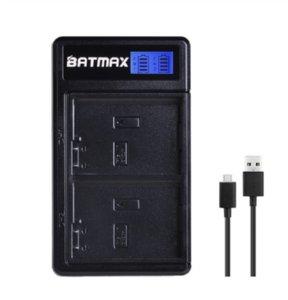 Neue Batmax EN-EL14 EN-EL14a batería + LCD Dual USB cargador para Nikon D5600 ... D5500 ... D5300 ... D5200 ... D5100 ...