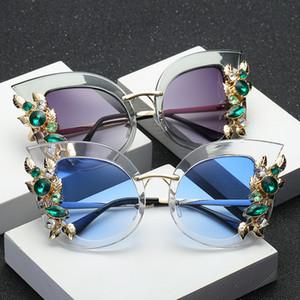 Thierry Lasry 대형 프레임 플라워 선글라스 스트리트 사진 여성 안경 패션 팝 선글라스