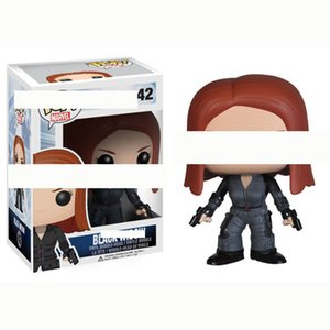 Funko Pop Avengers Black Widow Action Figures brinquedos Collection Model Toys for Children gift free shipping