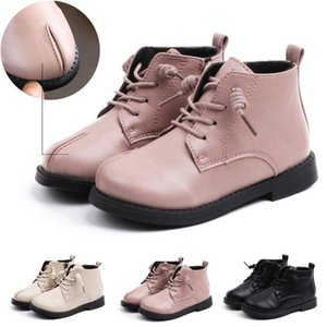 Leather Kids Boots Novelty Boys Girls Winter Warm Shoes Boot Baby Toddler Infant Autumn Retro Shoes Short Booties baskets enfant