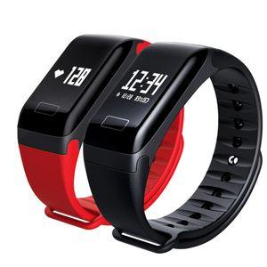 Smart Watch F1 Blood Oxygen Blood Pressure Band Fitness Sport Bracelet Heart Rate Monitor Sms Reminder Smart Watch Men Women Y19070603