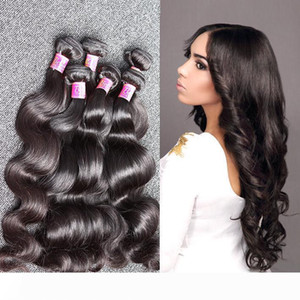 Bella Hair?8A Cheap Brazilian Hair Unprocessed Human Hair Extension Dyeable Body Wave Wavy Human Hair Wefts 8~30inch 5 Bundles Free Shipping
