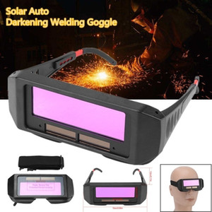 Solar Auto Escurecimento soldagem TIG MIG MMA Óculos de soldador Olhos Óculos