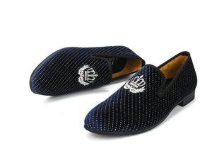 Partido azul de veludo sapatos casuais sapato Casual 2020 casuais sapatos jantar dos homens dos homens de condução dos homens MeiJiaNa ocasional New Loafers 38-46