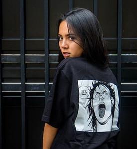 Para hombre de la camiseta Akira inyección Comic Camisetas 19SS verano para mujer tee camiseta hip hop Dibujos de algodón de manga corta camisas unisex
