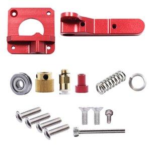 Extrudeuse à distance rouge Mk8 pour les pièces d'imprimante 3D Mise à niveau de l'extrudeuse entièrement en métal MK8 Accessoires 3D