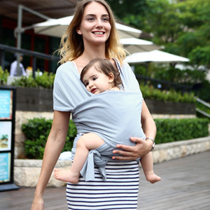 15587 Baby Carriers Ring Slings Toddler Infant Comfortable Candy Color Multifunction Sling Baby Sling Backpack Towel Strap