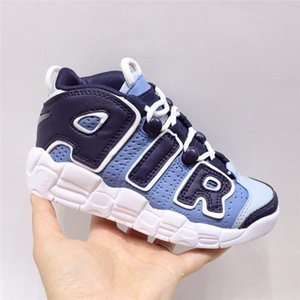 2019 Kids 96 QS Olympic School Team Maroon More Boys Girls Basketball Shoes Children 3M Scottie Pippen Uptempo Chicago Brand Sneakers
