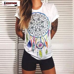 2020 New Fashion Women T Shirts Short Sleeve Women Printed Letters Shirts Female Graffiti Tops Tee Lady T Shirts S 4Xl