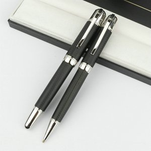 Luxury High Quality MB Pens Great Writer Jules Verne Classique Big Handle Full Metal with 14873 18500 , MB Crystal Cufflink option