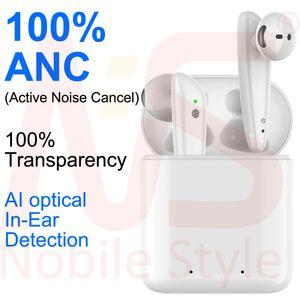 100٪ الضوضاء الغاء الهواء AP3 AP2 بلوتوث اللاسلكية سماعة TWS AP4 H1 رقاقة قرنة الأعلى في الأذن كشف حاضن الضغط الموالية Q32 I12 سماعات