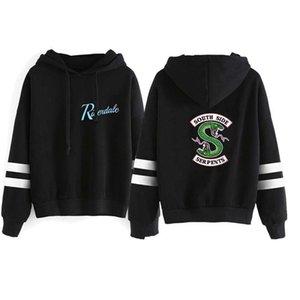 Riverdale Marque Hommes Designer Hoodies Mode Lettre vrac imprimé animal lambrissé Hommes Chemises hommes Vêtements décontractés