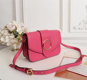 Novità di spalla del progettista Borsa in pelle M55948 Pont 9 borse dell'unità di elaborazione della signora Clutch Crossbody Circle Firma borsa fibbia sacchetto di sera con scatola