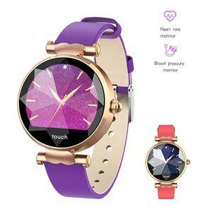 Smart Watch para Android iOS Phone Activity Fitness Tracker Relojes Salud Ejercicio Smartwatch con frecuencia cardíaca Adecuado para mujeres