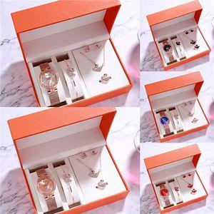 Women Watches Ladies Creative Diamond Quartz Wristwatch Set Fashion Ladies Wrist Watch Lover Gifts Relogio #ZD#978