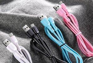 original de alta qualidade JOYROOM S-M357S carregamento rápido cabo de dados 1M 3 pés de sincronização de dados de carregamento Micro USB Cabo para Samsung Huawei com retailbox