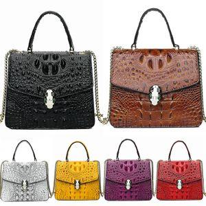 New Arrival 29Cm Large Size Women Plastic Jelly Crocodile Shoulder Bag Designer Girls Fashion Candy Color Bags Waterproof Pvc Beach Bags#618