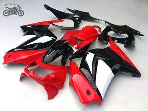 Le kit personnalisé gratuit pour Kawasaki Ninja 250R ZX250R ZXR 250 2008 2009 2010 2011 2012 EX250 08-12 carénage réparation de carrosserie