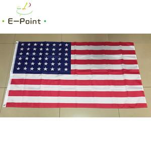 48 Sterne Old Glory American Flag 3 * 5 Fuß (90cm * 150cm) Polyester Fahne Banner Dekoration nach Hause fliegen Garten Flagge Festliche Geschenke