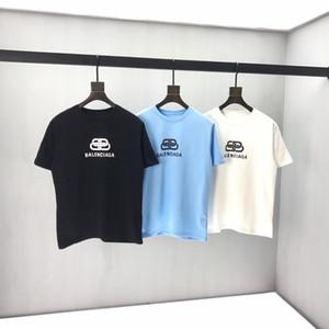 2020ss printemps et en été nouveau T-shirt panneau col rond manches courtes en coton impression de haute qualité Taille: m-l-TG-TTG-XXXL Couleur: blanc noir CB11