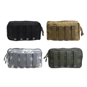 Tactical Molle Pouch Belt Waist Pack Bag EDC 1000D Nylon Utility Military Waist Pack Running Pouch Travel Camping Bags Soft back