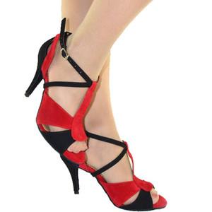 sapatos barriga XSG Adult Latin modelos outono e verão sapatos de dança das mulheres de salto alto sapatos de baile Meninas com camurça mais macio e confortável