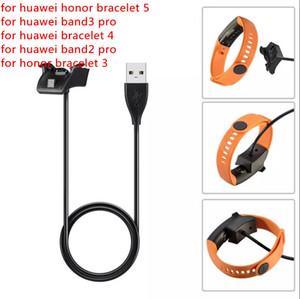 Honor Bilezik için USB Şarj Veri Kablosu 5 Dock Şarj için Huawei Onur 3 4 Akıllı İzle Band için Huawei Band 3 Pro Band 2 Pro