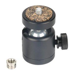 """360 cabezas de rótula de bola giratoria 1/4 \"""" Montar el tornillo para trípode de cámara DSLR rótula de soporte cabezas de trípode"""