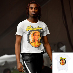 Playboi Carti Blondie impresionante de Hip Hop del rap de la vendimia estéticos chicos camiseta de la camisa de algodón para hombres T Nueva tee camiseta para mujer de la moda unisex