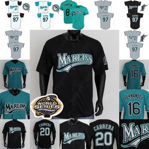 NCAA Florida Baseball Jersey Miguel Cabrera Ivan Rodriguez Dontrelle Willis Derrek Lee Mike Lowell Andre Dawson Gary Sheffield Juan Pierre