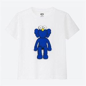 shirt do Designer T xingxing2003 New Arrival Men Tee Mulheres UNIQLO X KAWS X SESAME STREET Cotton T mangas curtas t-shirt camisa casual