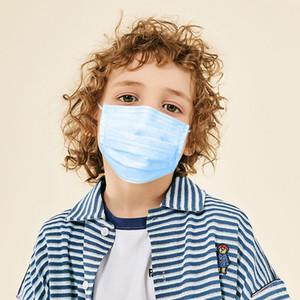 Одноразовые маски для детей, Маски для лица пылезащитной, дети Гигиеническая Mascher, Thin РОТ 3 PLY EAR LOOP МАСКИ, 3 слоя Нетканые