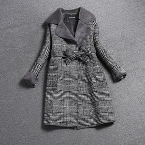 Liva ragazza 2019 Nuove donne Cappotto invernale Giacca spessa lunga Costume Donna Giacche in pelliccia Eleganti cappotti da donna eleganti di alta qualità