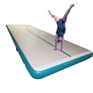 Air Tumble Track Yoga Mats Tumbling Pista 10FT 13FT 16FT 20FT 30FT EUROPA AMERICA PARA LA CAPACITACIÓN DEL HOGAR Alumno de la bomba gratis