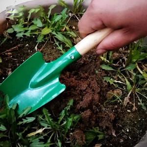26 centimetri Mini Sand Beach Pale Pale Pale Giardino in metallo con manico in legno robusto sicuro Gardening Tools Cazzuola Pala