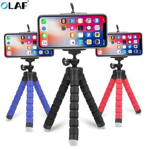 Flexible Tripod-Telefon-Halter für iPhone 11 Pro Max Samsung Xiaomi Sponge Octopus Handy-Standplatz Smartphone-Stativ für die Kamera