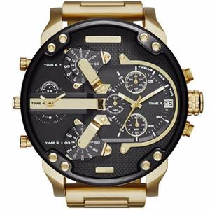 Горячая Продажа Luxury7333 Часы Ремешок Из Нержавеющей Стали Большой Циферблат Дизайнерские Часы Кварцевые Классические Военные Наручные Часы Автоматические Часы Дата Часы