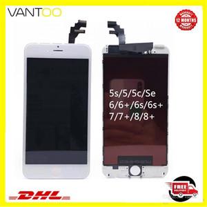 Hohe Helligkeit Premium A +++ LCD-Display Touchscreen Digitizer-Baugruppe Ersatzteile für iPhone 5 5s 6 6s plus 7 8 plus freie DHL