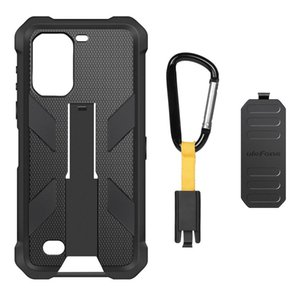 Custodia protettiva multifunzionale di TPU + PC per Ulefone Armatura 7, con schienale moschettone