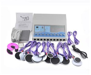 produto quente EMS eletrônico Muscle Stimulat Máquina russo Aceno ems elétrica estimulador muscular incluem endurecimento mama e almofadas de face
