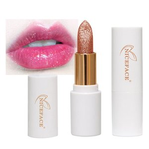 Tint Temperature Changed Color Lipstick Lasting Waterproof Shimmer Lip Makeup 4-Colors Natural Glitter Lipstick Moisture New