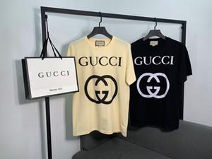 2020 printemps français et l'été dernier simple lettre d'impression respirant T-shirt mode d'homme de haute qualité oversize luxe T-shirts