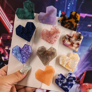 Nuovo clip parola amore acetato acetato tornante acriliche di colore caramella gelatina Liu Haipin accessori per capelli 2020