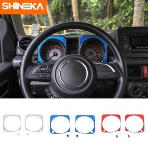 Shineka Intérieur pour Jimny JB74 Mouldings 2019+ Car Dashboard Décoration couverture pour Jimny 2019+ Accessoires