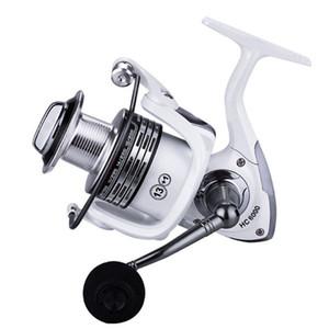 Max 15KG Arraste metal Spinning Fishing Reel 1000-7000 Esquerda / Pesca baratos Mão Direita Rolos Peças Carp baixo de água doce Água salgada