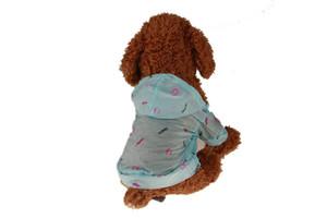 10pcs Pet Güneş UV Koruyucu Giysi Köpek Gömlek Yaz Güneş Koruma Ceket Hafif Pet Klima Giyim 5 Boyutları 4 Renkler