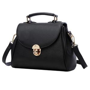 مصمم حقائب اليد لطيف الكرتون الجرو النقش المرأة بنات CROSSBODY حقائب الأسود البسيطة حقائب رسول